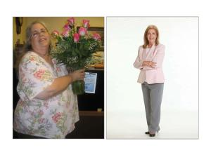 Before and After my 170-lb. weight loss.
